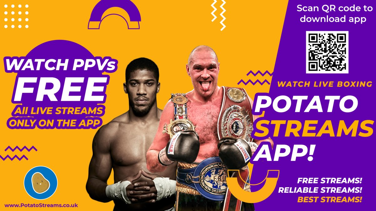 watch boxing live online for free on Potato Streams Boxing